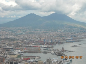 Naples view from the Castle